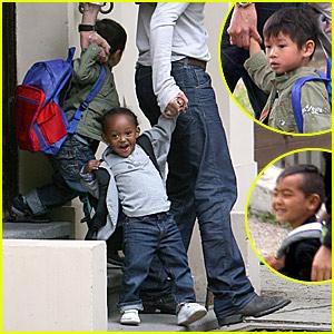 Brad Pitt: More Daddy Duties!