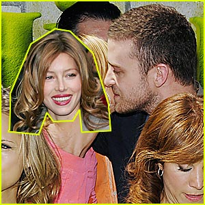 Timberlake & Biel: Kiss Kiss Kiss!