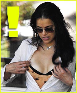 Michelle Rodriguez: I Like Bras... Real Bras