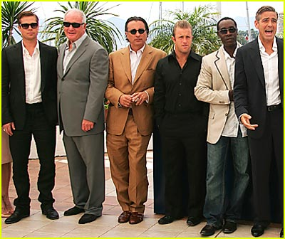 Ocean's 13 Cast Storms Cannes