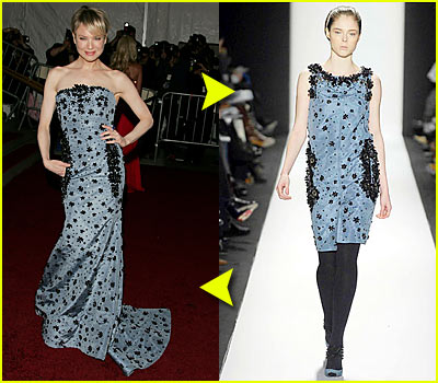 Renee Zellweger @ Costume Institute 2007