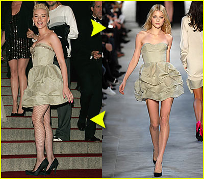 Scarlett Johansson @ Costume Institute 2007