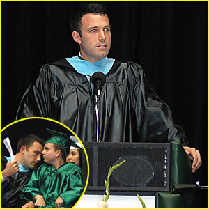 Ben Affleck's Commencement Speech