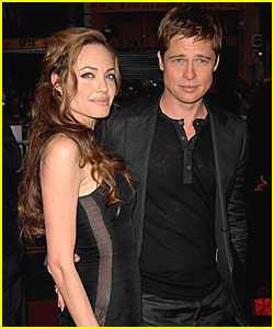 Brad & Angelina Strike Fashion Gold