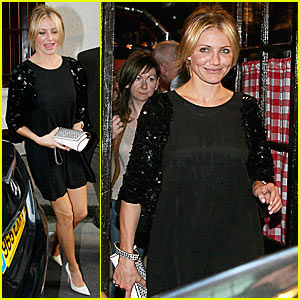 Cameron Diaz Downs French Food
