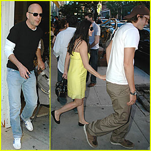 Demi & Ashton's Dinner with Bruce