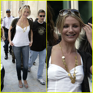 Cameron Diaz Goes French