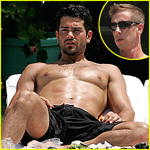 Jesse Metcalfe: Shirtless in the Sun