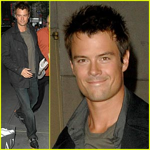 Josh Duhamel Loves His Auntie Barb