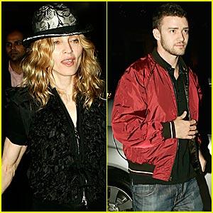 Madonna Taps Up Timberlake