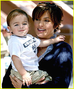Mariska Hargitay: Take Your Son to Work Day!