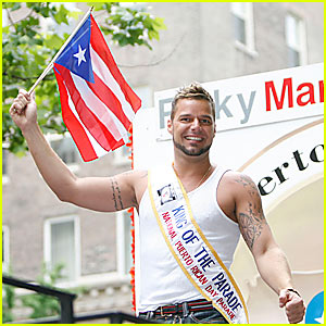 Ricky Martin is the King of the Parade