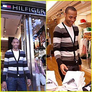 Soccer Star Thierry Henry Does Tommy Hilfiger