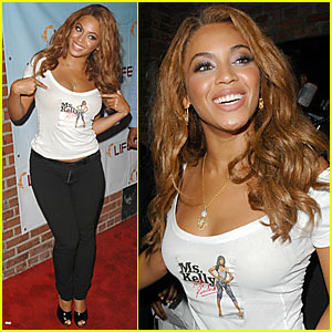 Beyonce @ Ms. Kelly Album Release