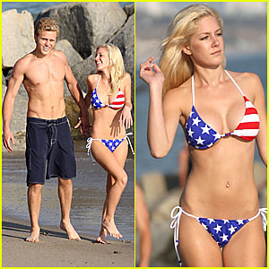Heidi Montag's July 4th Bikini Blow-Out