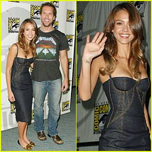 Jessica Alba @ Comic-Con 2007