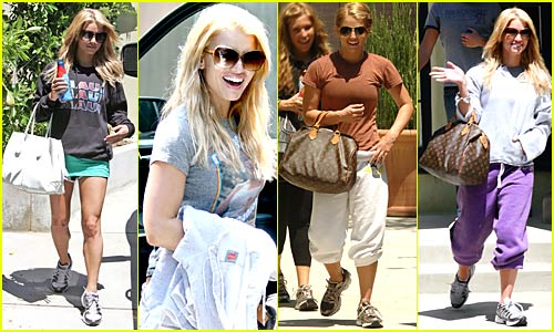 Jessica Simpson Continues Work-Out Frenzy