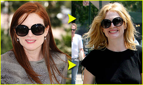 Julianne's Moore's Blonde New Do