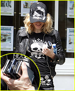 Madonna's Many Mobile Devices