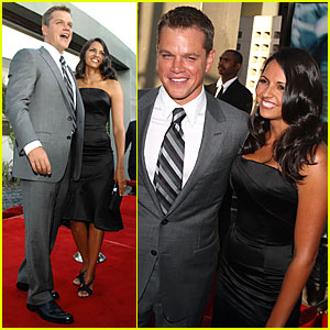 Matt Damon @ 'Bourne Ultimatum' Premiere