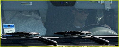 Nicole Richie's Baby Bump Drive