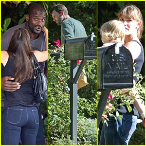 Jennifer Garner's Shaq Attack