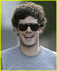 Adam Brody Lets His Shaggy Hair Flow Free
