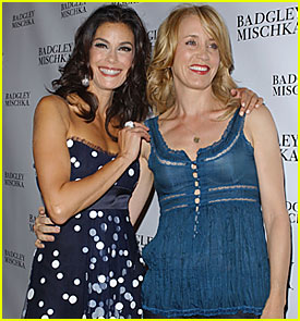 Teri Hatcher Celebrates Badgley Mischka