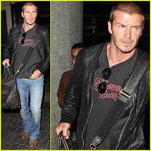 David Beckham: Safe and Sound... and Sexy