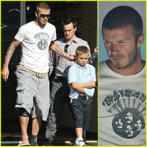 David Beckham is All Kinds of Shady