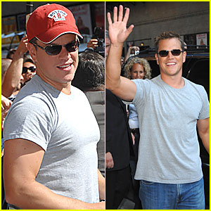 Matt Damon @ Letterman
