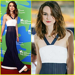 Keira Kicks Off Venice Film Festival