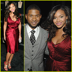 Beyonce @ Usher's Launch Party