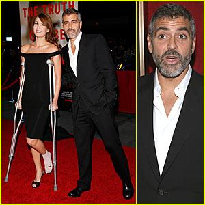 George Clooney @ 'Michael Clayton' Premiere