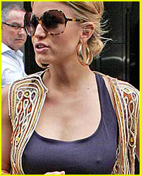 Jessica Simpson's Multi-Colored Vest -- Yay or Nay?