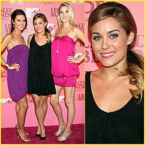 Lauren Conrad Goes Blonde... Legally Blonde!