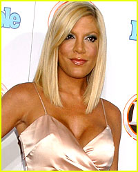 Tori Spelling is a Pussycat Doll