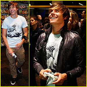 Zac Efron is a Video Game Master