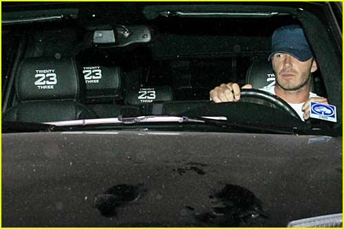 David Beckham Needs a Car Wash