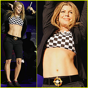 Fergie is a Checkboard Chick