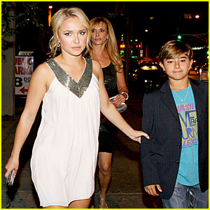 Hayden Panettiere is a Protective Sister