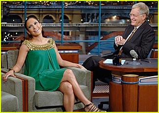 Jennifer Lopez Yucks It Up With Letterman