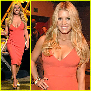 Jessica Simpson @ CMT Giants Tribute 2007