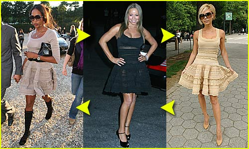 Fashion Faceoff: Azzedine Alaia Dress