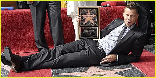 Ricky Martin Gets