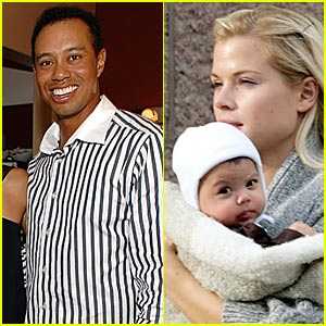 Sam Woods: Tiger Woods' Daughter Out and About
