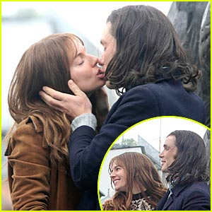 Sienna Miller & Cillian Murphy... KISSING!