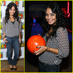 Vanessa Hudgens is a Bowling Babe