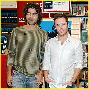 Adrian Grenier Pimps Entourage Book