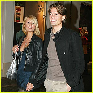 Paris Hilton & Alex Vaggo's Date Night Out